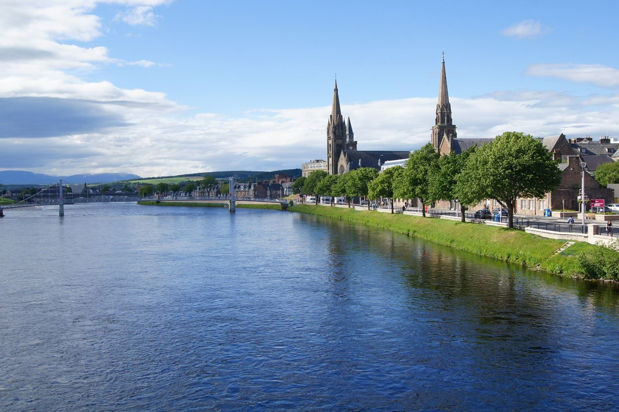 Inverness & the River Ness