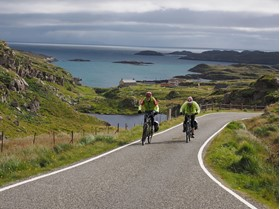 Harris Golden Road near Tarbert